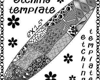 Patch Work Making jewelry Etching Patch work Cuff pattern Download favor swa
