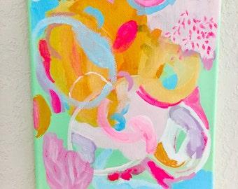 BAKED ALASKA Original Abstract Painting