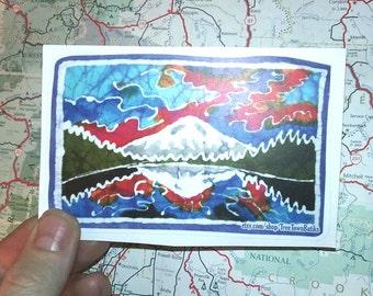 Mirror Lake- Vinyl Sticker