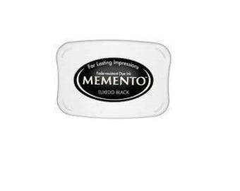 Memento Dye Ink Pad Tuxedo Black rubber stamp supplies scrapbooking  stamp