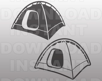Camping Tent SVG File,Hiking SVG File,Backpacking SVG File -Commercial & Personal Use- svg file Cricut,svg file for Silhouette,vinyl cutting