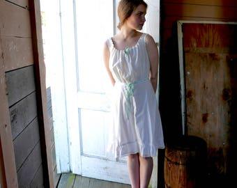 Edwardian Corset Cover Petticoat Size XS