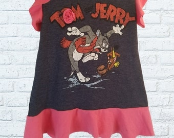 Tom and Jerry Baby Girl 2t Toddler Dress