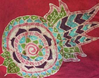 Batik Mandala Goddess Hoodie-  S, L, or XL