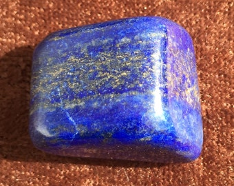 Blue Lapis Polished Free Form Stone 1 1/8""
