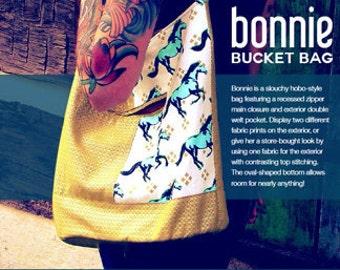 Swoon PATTERN - Bonnie Bucket Bag