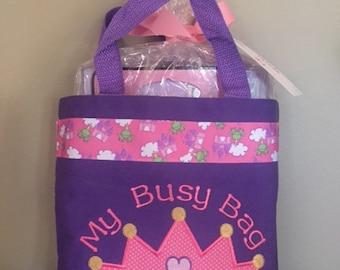 Princess Crown Busy Bag