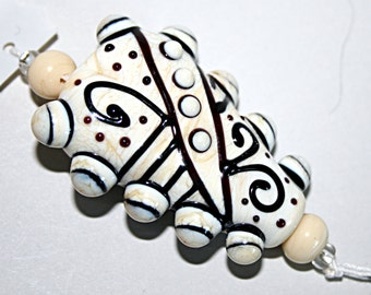 Lampwork  Art Beads by Jeanniesbeads #1720