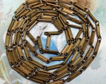 Vintage Chain Brass Links