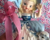Vintage Little Bo Peep Figurine.. REPAIRED!!