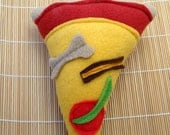 Squeaky Pizza Dog Toy