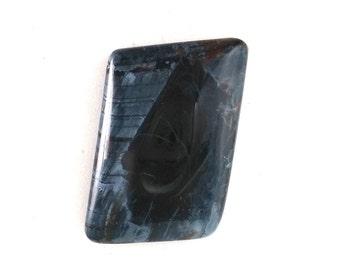 African Pietersite Dark Blue Designer Cabochon 24 x 34mm  C23