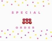 SPECIAL ORDER for MyfavoriteM Hanukkah Cards, Handmade Holiday Cards, Happy Hanukkah, with Menorah,  Chanukah Cards
