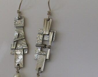 Sterling Kimona Earrings