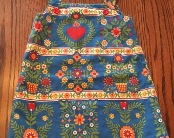 Handmade Scandi Dress Kids 4/5