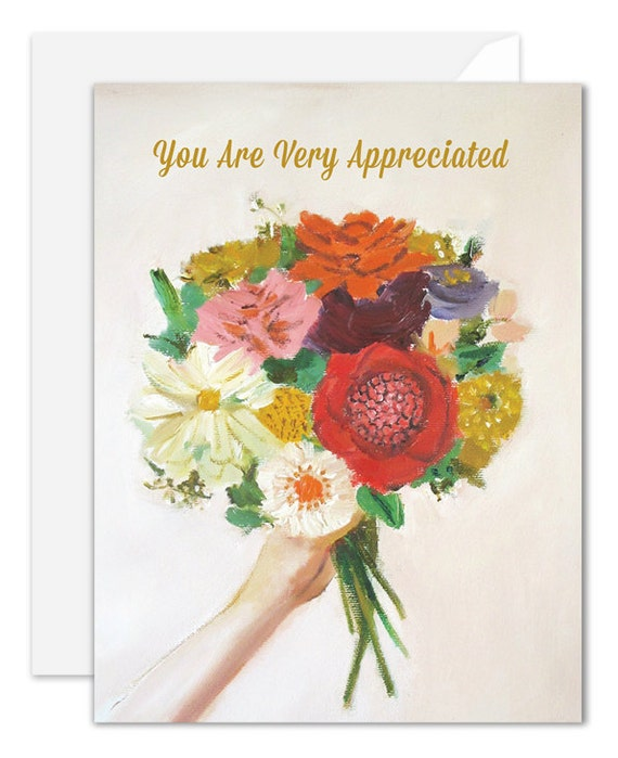 You Are Very Appreciated Card. SKU JH1126