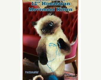 ON SALE Cat Sewing pattern, Stuffed animal Pattern, PDF Cat Pattern, Plush Animal Pattern, Cat Stuffy, Plush Cat, Teddy Bear Pattern, Cat Pa