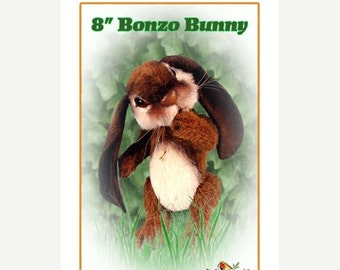ON SALE Rabbit Animal Pattern, Bunny Plush Pattern, Plush Animal Pattern, PDF Sewing Pattern, Stuffed Animal Pattern, Diy Bunny, Teddy Bear