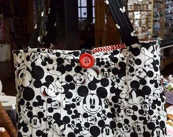 Red Mickey Mouse Tote bag
