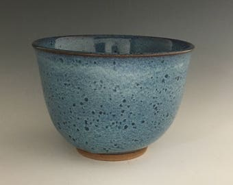 Ceramic soup bowl, Blue bowl, Serving bowl BR22