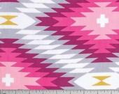 Geometric fabric, Tribal Fabric, Wander fabric, Rustic Home Decor, Southwestern Decor, Azteca in Rosetta- Choose the cut
