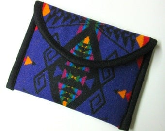 Kindle or Kindle Paperwhite Sleeve Cover Case Blanket Wool Pouch Padded Southwest Print from Pendleton Oregon