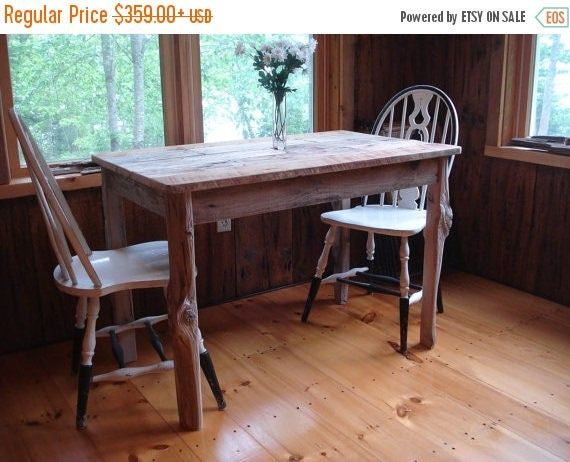 "20% OFF SALE Driftwood Dining Room Table (""42x26""x29""H)"
