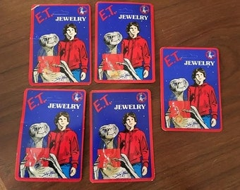 1982 E.T. Extra Terrestrial Movie Jewelry Charm - New in Package