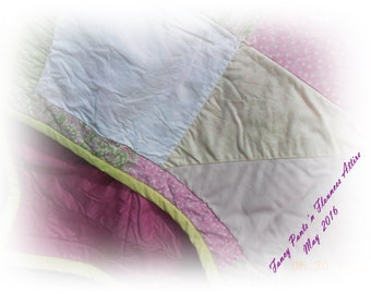 Pretty 'n Pink Vintage Quilt