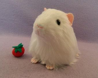 Big White Guinea Pig Plush
