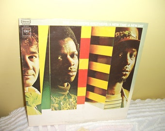 Chambers Brothers A New Time A New Day Vinyl Record Album NEAR MINT condition