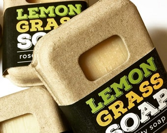 Lemongrassl Soap | Artisan Soap | Coconut Oil | Natural Soap