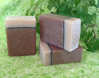 Chai Latte Soap, Vegan Friendly, 5 to 6 ounce bar, scented with only pure essential oils