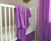 Lilac skirt and blanket
