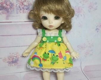 Frogs Dress for Lati Yellow, Pukifee