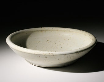 Large White Bowl