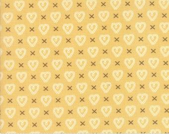 Sugar Pie (5043 17) Yellow Cross my Heart by Lella Boutique