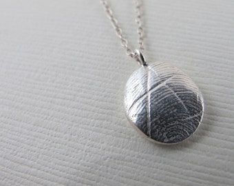 Fingerprint necklace, fingerprint jewelry, memorial jewelry mom, memorial jewelry dad, new mom necklace