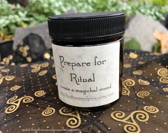 Prepare for Ritual Incense