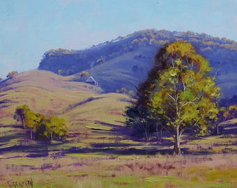 Landscape Painting, oil painting, Australian painting, impressionist painting by  Graham Gercken