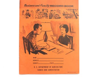 Business and Family Record Book Budget Accounting