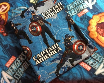 Toddler Nap Mat for Daycare or Preschool - Captain America
