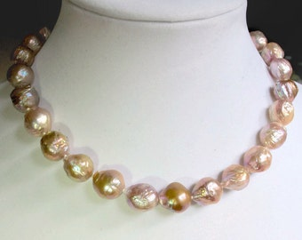 Gorgeous Kasumi Style Freshwater Pearl Necklace