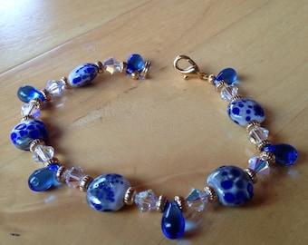 Blue Drop Bracelet