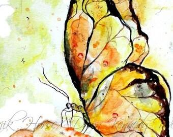 Butterfly Art, Butterfly Print, Watercolor Print, Watercolor Painting, Butterfly Painting, Art Print, Nature Art, Majik Horse