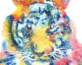 Tiger Face Spirit Animal ...
