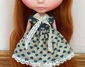 Sweet Hearts Dress for Neo Blythe