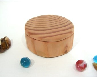 Reclaimed Douglas Fir Wood Box, guitar pick box, ring bearer box, engagement ring box, proposal box, presentation, earring box, Christmas