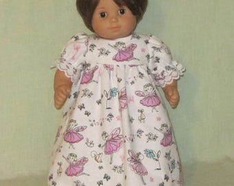 Nightgown American Girl Bitty Baby Dolls Fairy