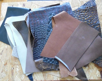 Brown Leather Accent Pieces